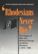 Cover for Rhodesians Never Die