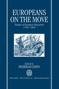 Cover for Europeans on the Move