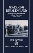 Cover for Governing Rural England