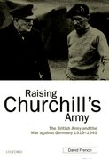 Cover for Raising Churchill