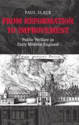 Cover for From Reformation to Improvement