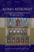 Cover for Altars Restored