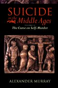 Cover for Suicide in the Middle Ages