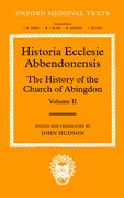 Cover for Historia Ecclesia Abbendonensis