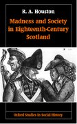 Cover for Madness and Society in Eighteenth-Century Scotland
