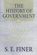 Cover for The History of Government from the Earliest Times
