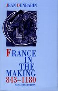 Cover for France in the Making 843-1180