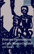 Cover for Print and Protestantism in Early Modern England