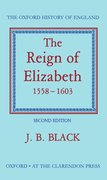 Cover for The Reign of Elizabeth, 1558-1603