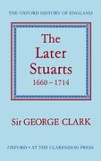Cover for The Later Stuarts 1660-1714
