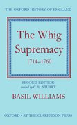 Cover for The Whig Supremacy, 1714-1760