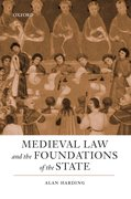 Cover for Medieval Law and the Foundations of the State