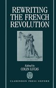 Cover for Rewriting the French Revolution