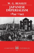 Cover for Japanese Imperialism 1894-1945