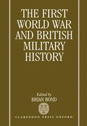 Cover for The First World War and British Military History