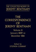 Cover for The Correspondence of Jeremy Bentham