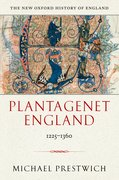 Cover for Plantagenet England 1225-1360