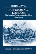 Cover for Reforming London
