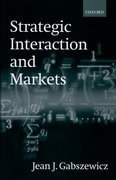 Cover for Strategic Interaction and Markets
