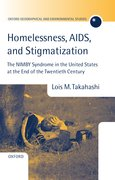 Homelessness, AIDS, and Stigmatization