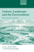 Cover for Culture, Landscape, and the Environment