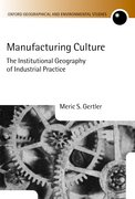 Cover for Manufacturing Culture