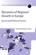 Cover for The Dynamics of Regional Growth in Europe