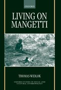 Cover for Living on Mangetti