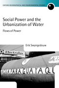Cover for Social Power and the Urbanization of Water
