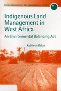 Cover for Indigenous Land Management in West Africa
