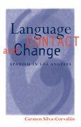 Cover for Language Contact and Change