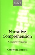 Cover for Narrative Comprehension
