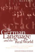 Cover for The German Language and the Real World
