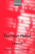 Cover for The Noun Phrase