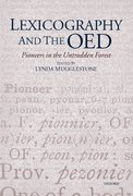 Cover for Lexicography and the OED