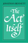 Cover for The Act Itself