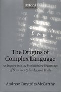 Cover for The Origins of Complex Language