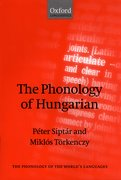 Cover for The Phonology of Hungarian