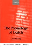 Cover for The Phonology of Dutch