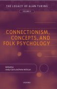 Cover for Connectionism, Concepts, and Folk Psychology