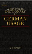 Cover for A Practical Dictionary of German Usage