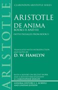 Cover for De Anima