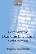 Cover for Comparative Dravidian Linguistics
