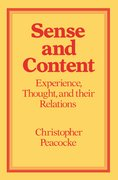 Cover for Sense and Content