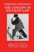 Cover for The Concept of Socialist Law
