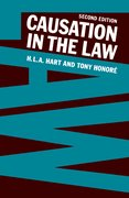 Cover for Causation in the Law