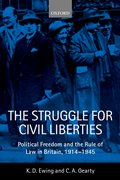 Cover for The Struggle for Civil Liberties