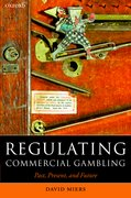 Cover for Regulating Commercial Gambling