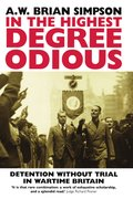 Cover for In the Highest Degree Odious