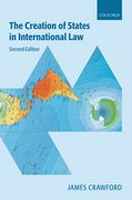 Cover for The Creation of States in International Law
